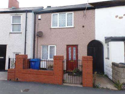 2 Bedrooms Terraced House for sale in Victoria Road, Rhyl, Denbighshire, LL18