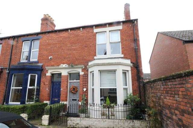 2 Bedrooms End Of Terrace House for sale in Orfeur Street, Carlisle, CA1 2AB