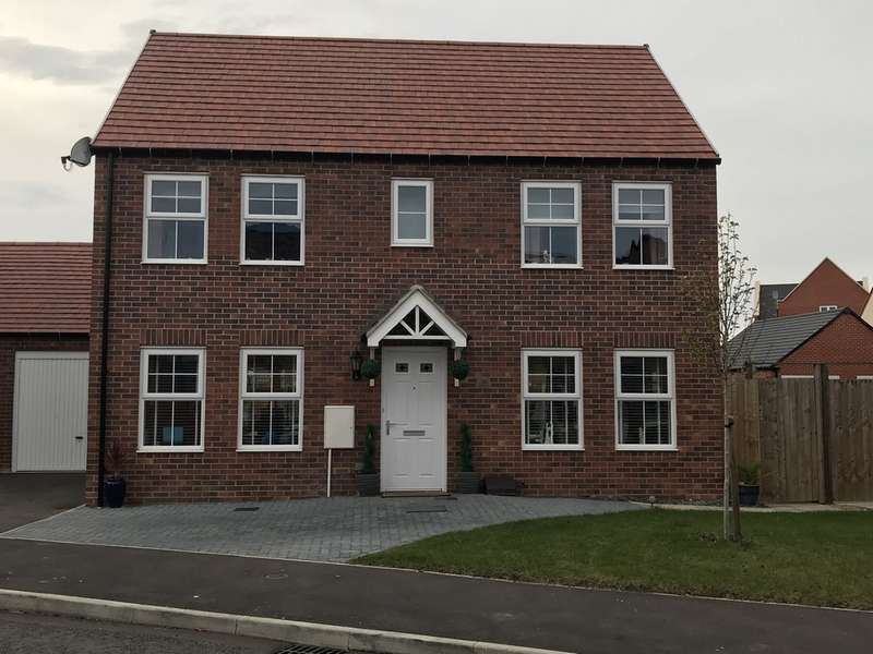 4 Bedrooms Detached House for sale in Hobby Road, Bodicote