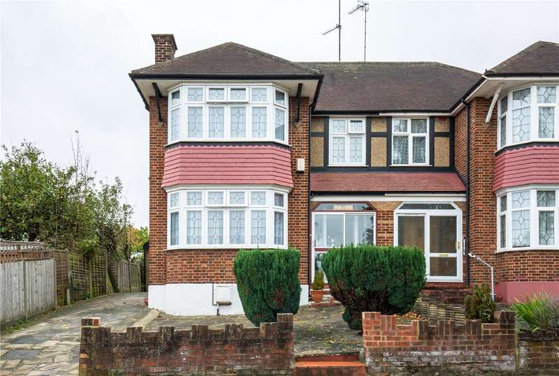 3 Bedrooms Semi Detached House for sale in South Lodge Drive, Southgate, London, N14