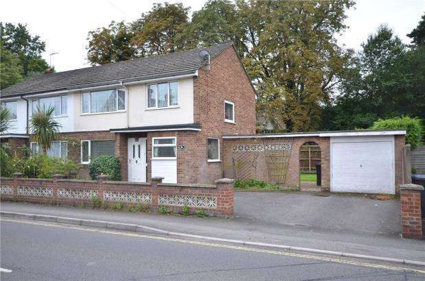 3 Bedrooms Semi Detached House for sale in Aldershot Road, Fleet, Hampshire