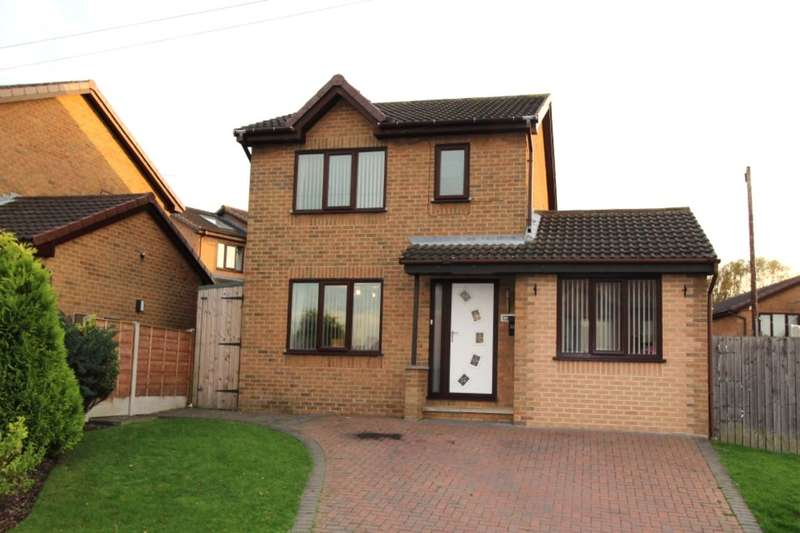 3 Bedrooms Detached House for sale in Rose Farm Rise, Normanton, WF6