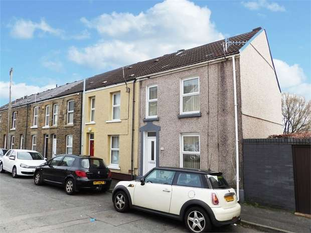 2 Bedrooms End Of Terrace House for sale in Morris Street, Morriston, Swansea, West Glamorgan