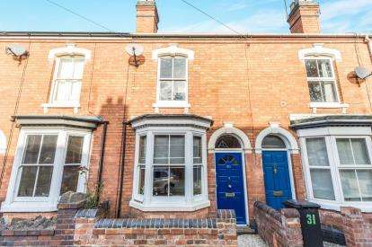 2 Bedrooms Terraced House for sale in Derby Road, City Centre, Worcester, Worcestershire