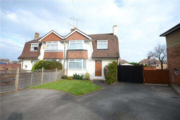 3 Bedrooms Semi Detached House for sale in Onslow Gardens, Caversham, Berkshire