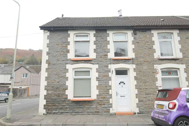 3 Bedrooms Terraced House for sale in Standard Terrace, Ynyshir, Porth