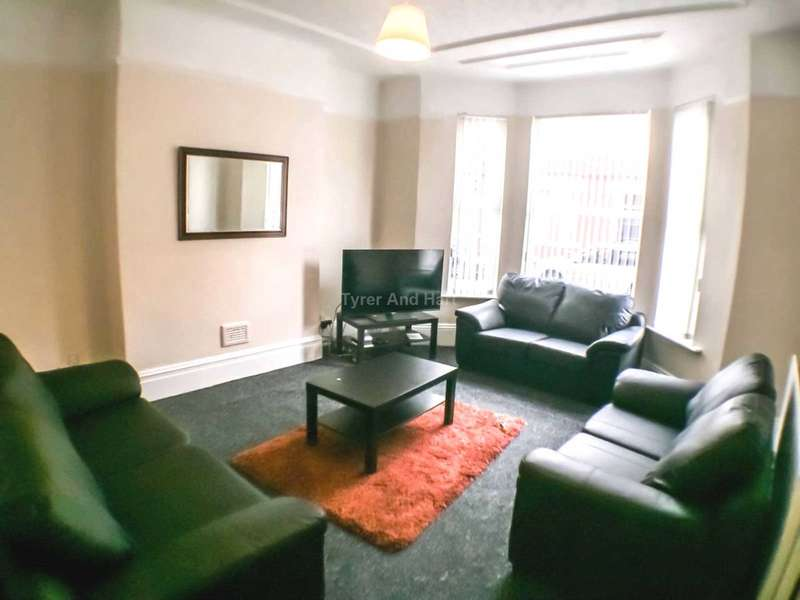 7 Bedrooms House Share for rent in Ampthill Road, Liverpool