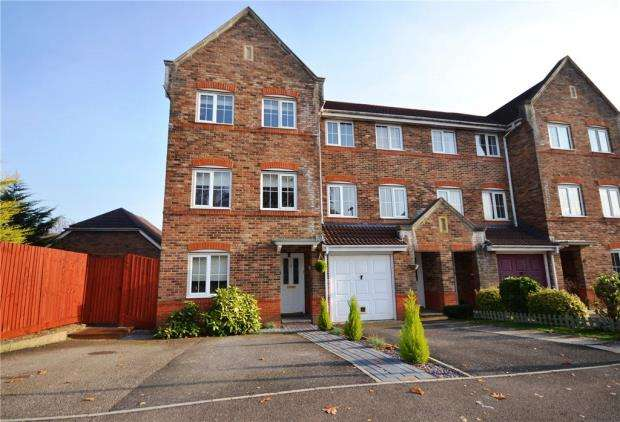 4 Bedrooms End Of Terrace House for sale in Mill Road, Basingstoke, Hampshire