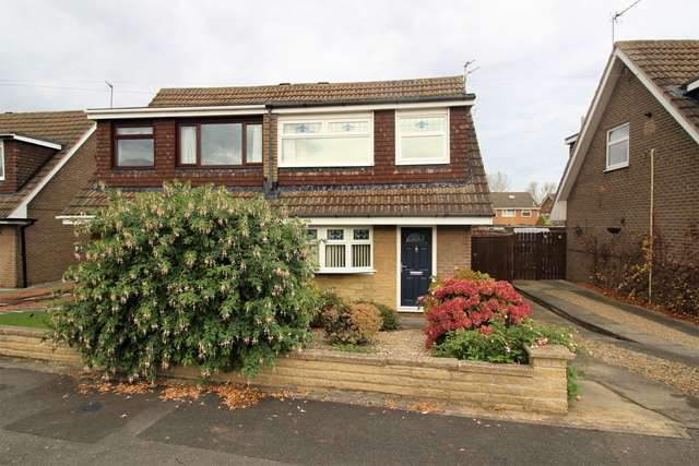 3 Bedrooms Semi Detached House for sale in Whinfell Avenue Eaglescliffe TS16 0HY