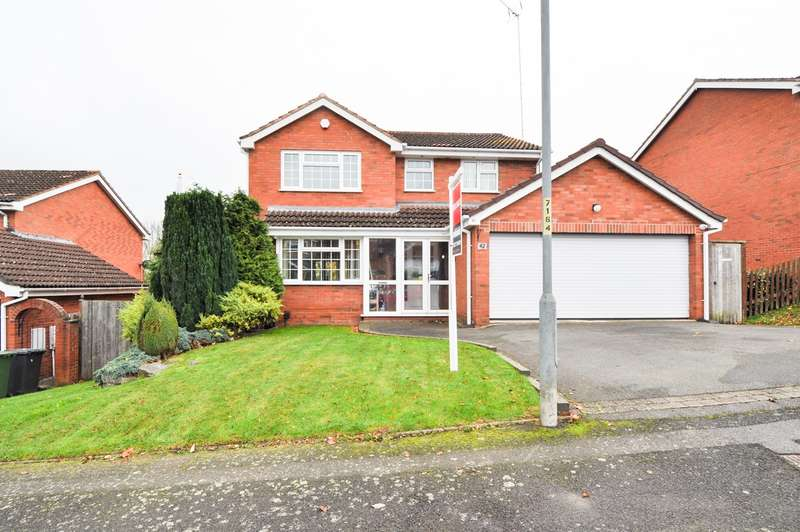 5 Bedrooms Detached House for sale in Weatheroak Close, Webheath , Redditch, B97