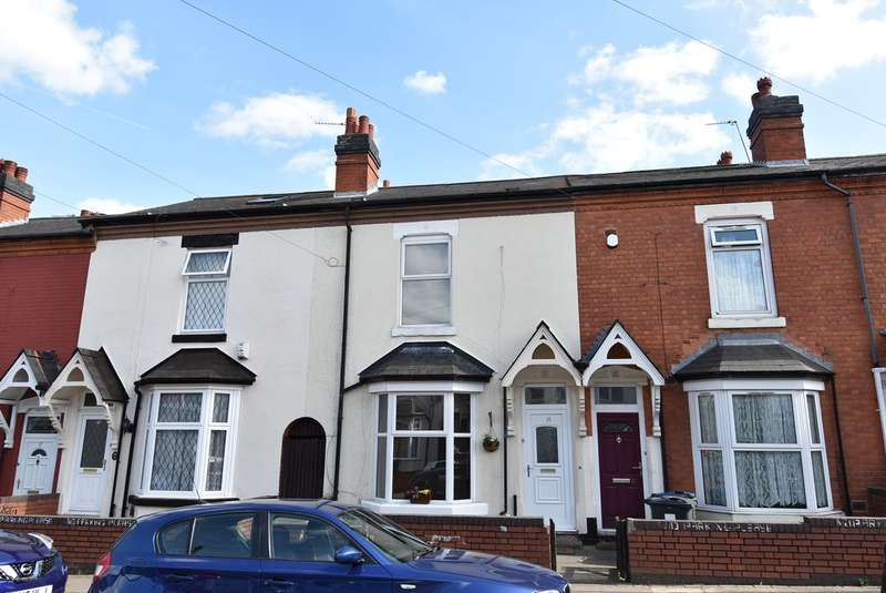 3 Bedrooms Terraced House for sale in Pembroke Road, Balsall Heath, Birmingham, B12