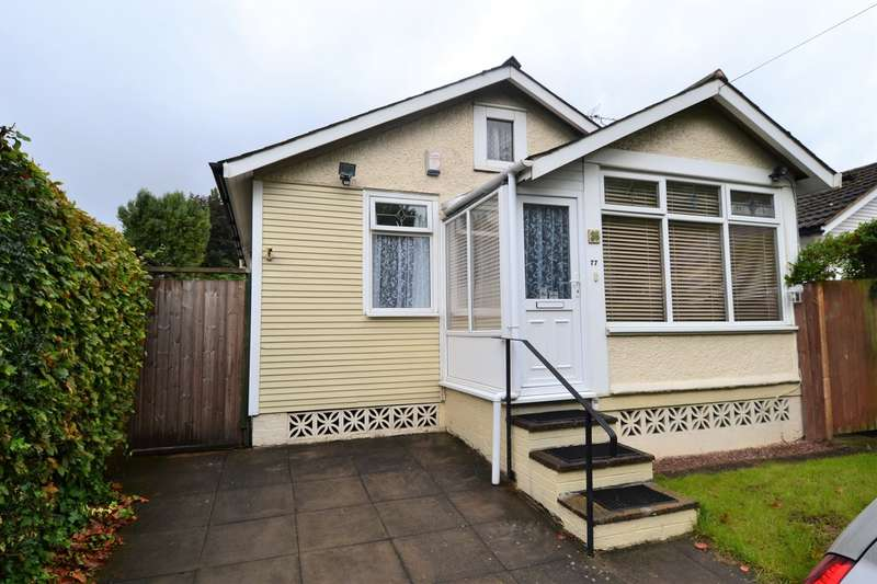 2 Bedrooms Detached Bungalow for sale in Hawkesley Drive, Birmingham, B31