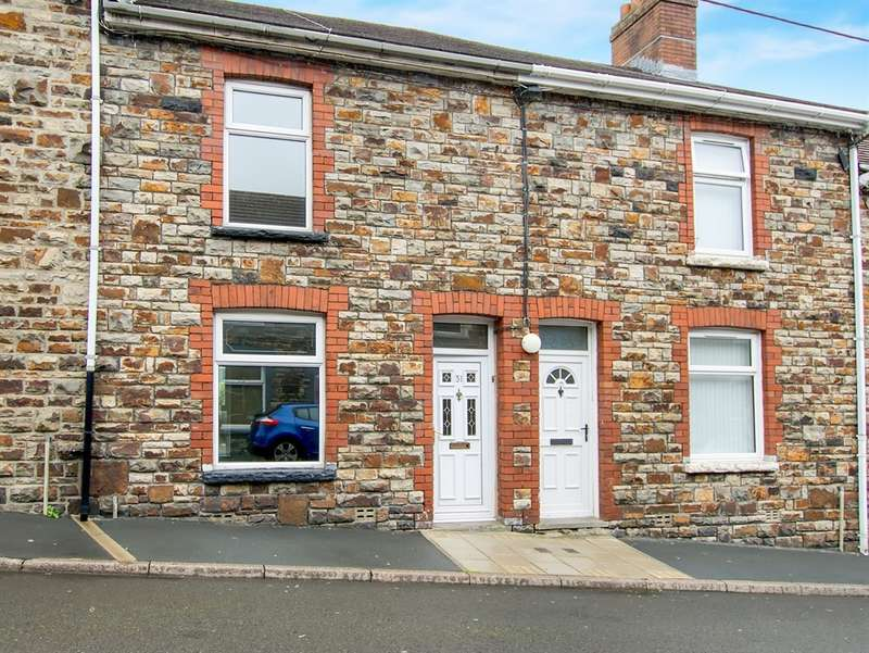 2 Bedrooms Terraced House for sale in Council Street, Penydarren, Merthyr Tydfil