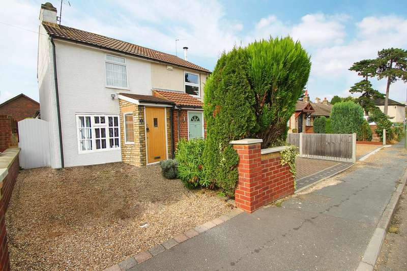 2 Bedrooms Semi Detached House for sale in Staveley Road, Ashford, TW15