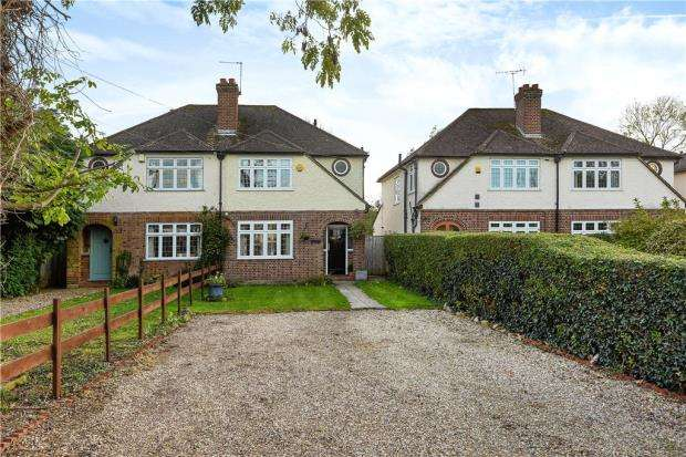 3 Bedrooms Semi Detached House for sale in Horton Road, Datchet, Slough