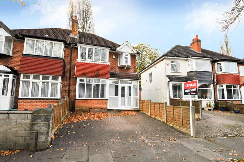 3 Bedrooms Semi Detached House for sale in Kemshead Avenue, Northfield, Birmingham, B31