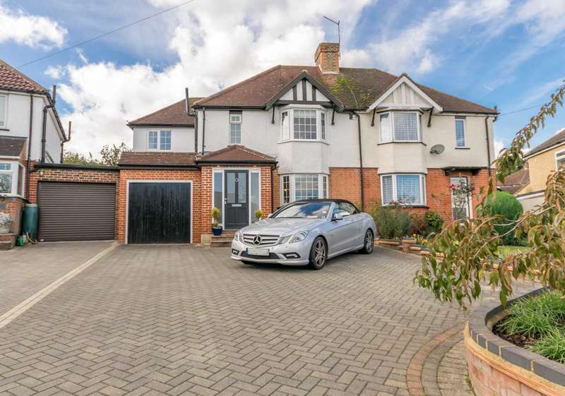 4 Bedrooms Semi Detached House for sale in Garston Crescent, Stanborough