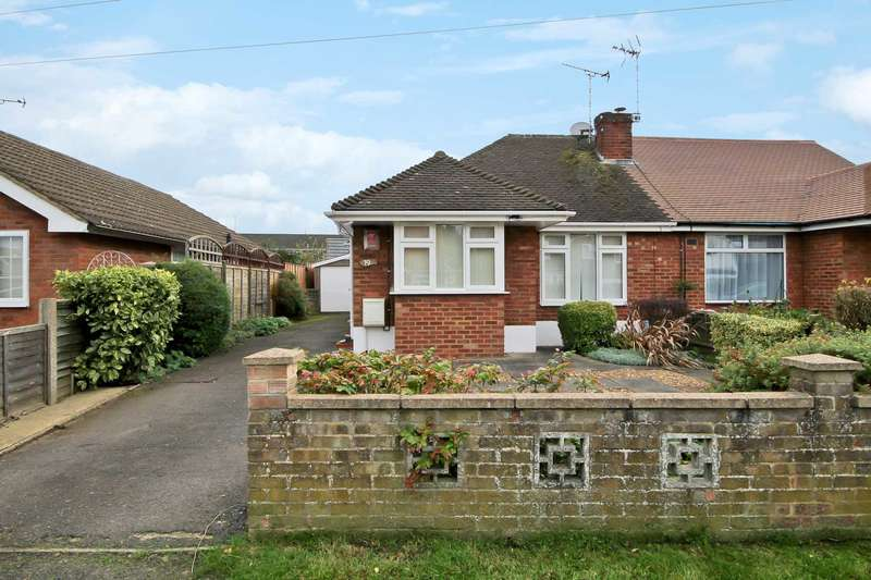 2 Bedrooms Bungalow for sale in Seamons Close, Dunstable