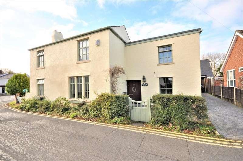 4 Bedrooms Detached House for sale in Cobblestone Cottage, Preston Old Road, Freckleton, Preston, Lancashire, PR4 1HD