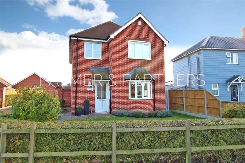 4 Bedrooms Detached House for sale in Mulberry Gardens, Langenhoe, Colchester