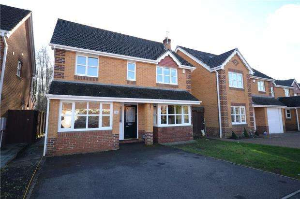 4 Bedrooms Detached House for sale in Wisley Gardens, Farnborough, Hampshire