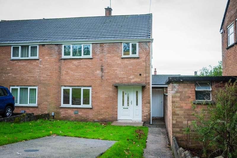 3 Bedrooms Semi Detached House for sale in Pepys Crescent, Llanrumney