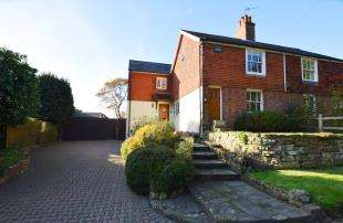 3 Bedrooms Semi Detached House for sale in Sunny Bank, Back Lane, Cross In Hand, Heathfield