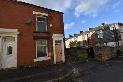 2 Bedrooms End Of Terrace House for sale in Angela St, Mill Hill, Blackburn, Lancashire