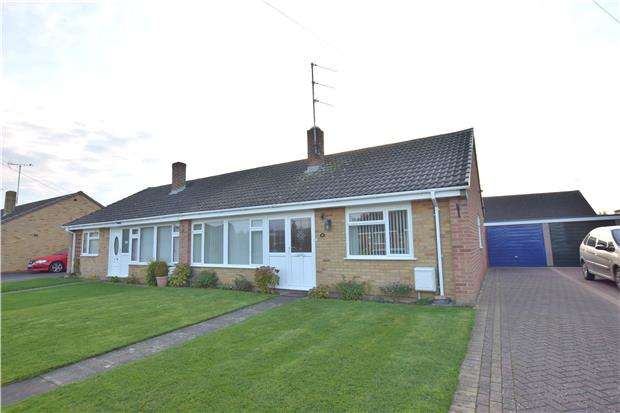 3 Bedrooms Semi Detached Bungalow for sale in Alma Close, CHELTENHAM, Gloucestershire, GL51 3NA