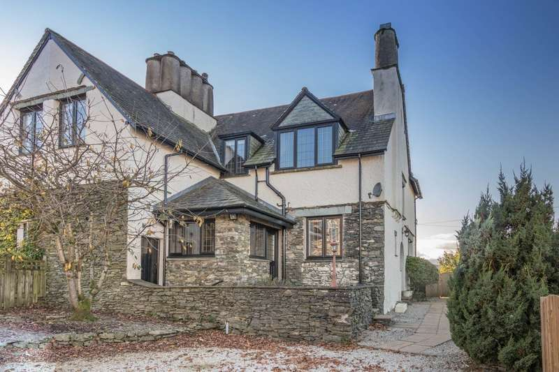 3 Bedrooms Semi Detached House for sale in Blencathra, Including Building Plot, Park Road, Windermere
