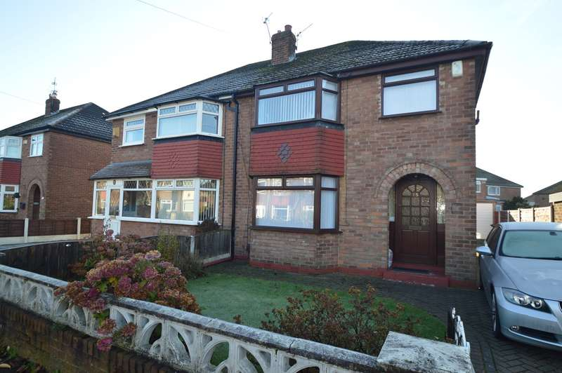 3 Bedrooms Semi Detached House for sale in Kenmore Road, Whitefield, Manchester, M45