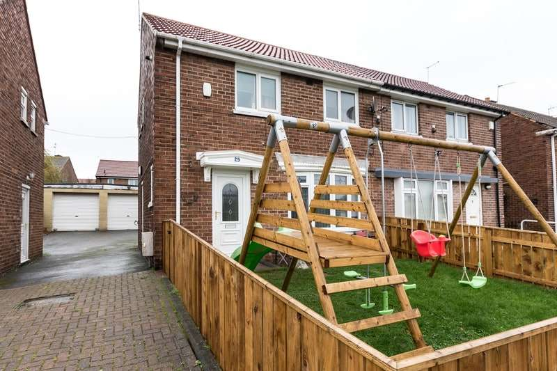 2 Bedrooms Semi Detached House for sale in Rydal Crescent, Peterlee, County Durham, SR8