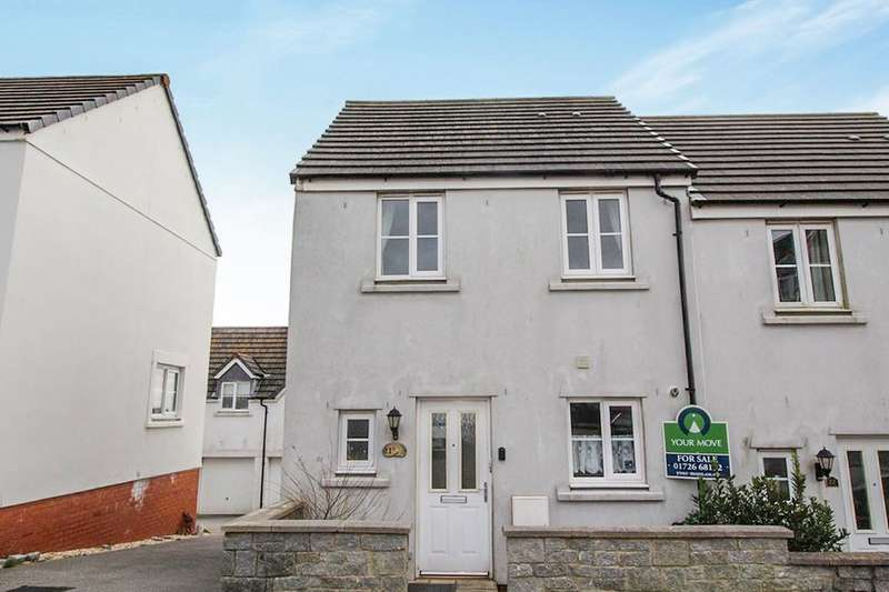 2 Bedrooms Semi Detached House for sale in Keay Heights, St. Austell, PL25