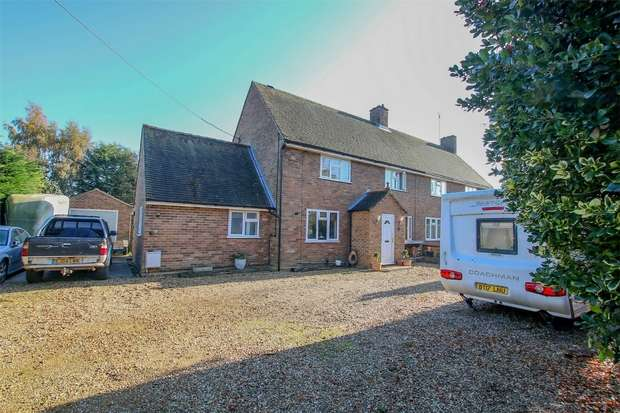3 Bedrooms Semi Detached House for sale in 44 Priory Lane, North Wootton