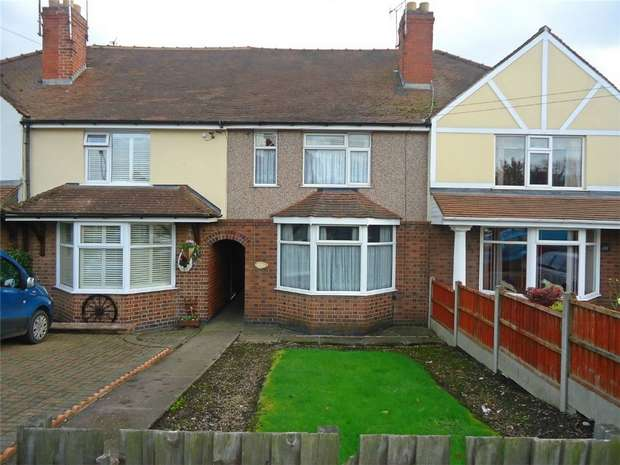 2 Bedrooms Terraced House for sale in Croft Road, Nuneaton, Warwickshire