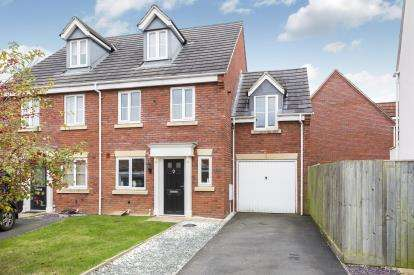 4 Bedrooms Semi Detached House for sale in Siskin Drive, Hayden, Cheltenham, Gloucestershire
