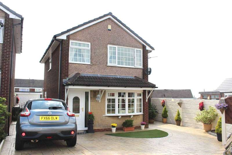 3 Bedrooms Detached House for sale in Whitehorse Close, Horwich