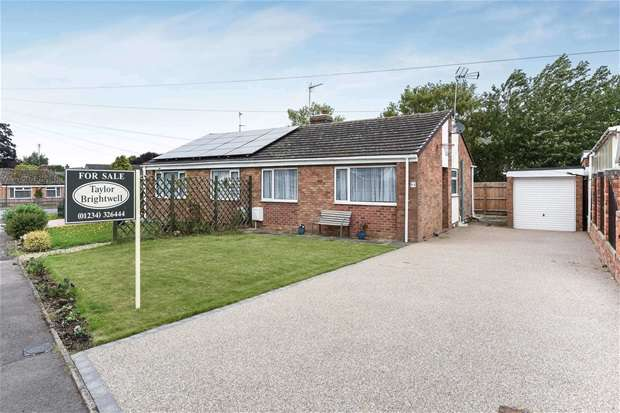 2 Bedrooms Semi Detached Bungalow for sale in Mill Road, Bozeat