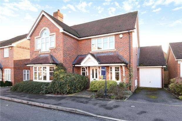 4 Bedrooms Detached House for sale in Skylark Way, Shinfield, Reading