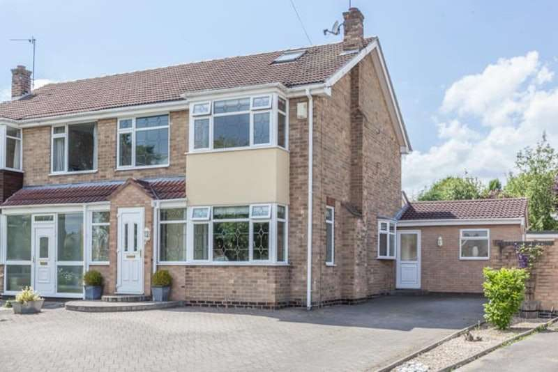 4 Bedrooms Semi Detached House for sale in Broadley Avenue, Hull, East Yorkshire, HU10