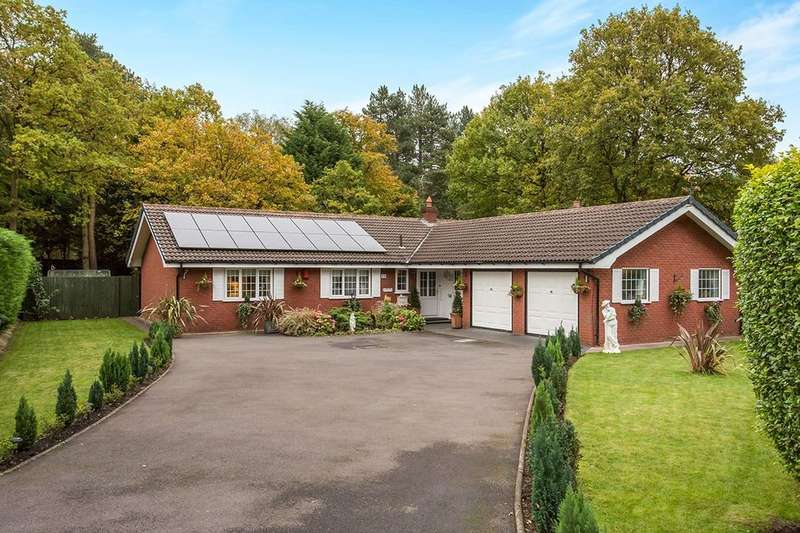 3 Bedrooms Detached Bungalow for sale in Sylvan Close Twemlows Avenue, Higher Heath, Whitchurch, SY13