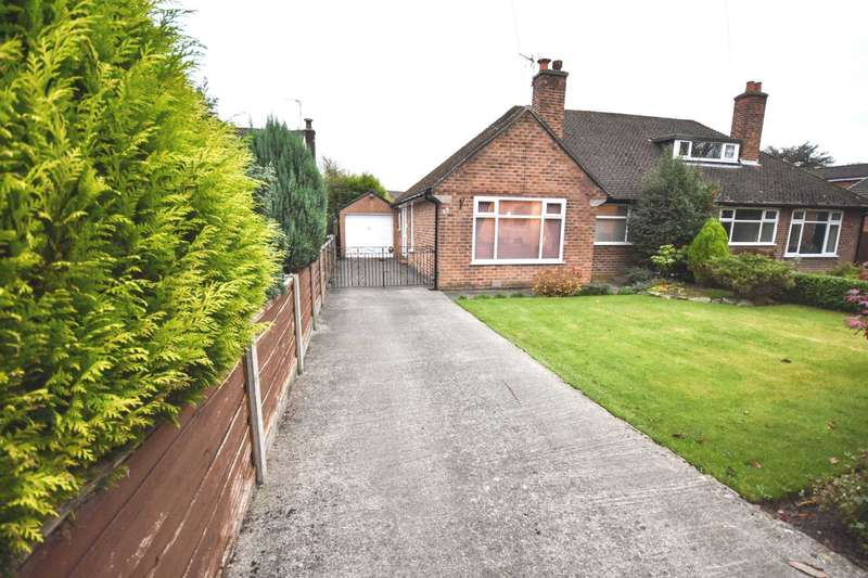 1 Bedroom Semi Detached Bungalow for sale in CLIFFORD ROAD, POYNTON