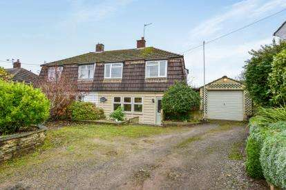 3 Bedrooms Semi Detached House for sale in Wookey Hole, Wells, Somerset