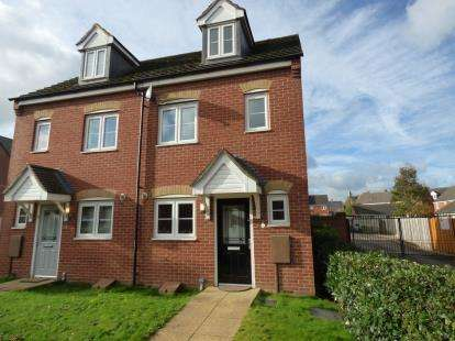 3 Bedrooms Semi Detached House for sale in Dave Bowen Close, St. Crispins, Northampton, Northamptonshire