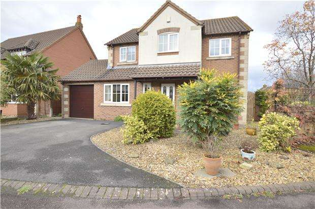 4 Bedrooms Detached House for sale in Gatcombe Close, Bishops Cleeve, GL52 8TF