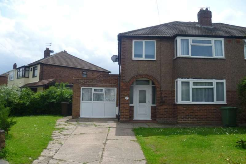 3 Bedrooms Semi Detached House for sale in Fairview Crescent, Wolverhampton, WV11