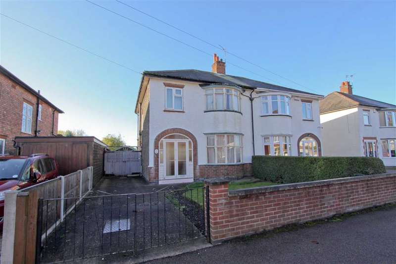 3 Bedrooms Semi Detached House for sale in Wallace Road, Loughborough
