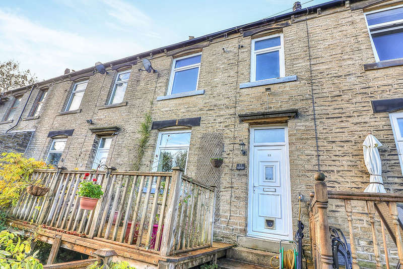 2 Bedrooms Terraced House for sale in Booth House Terrace, HALIFAX, HX2