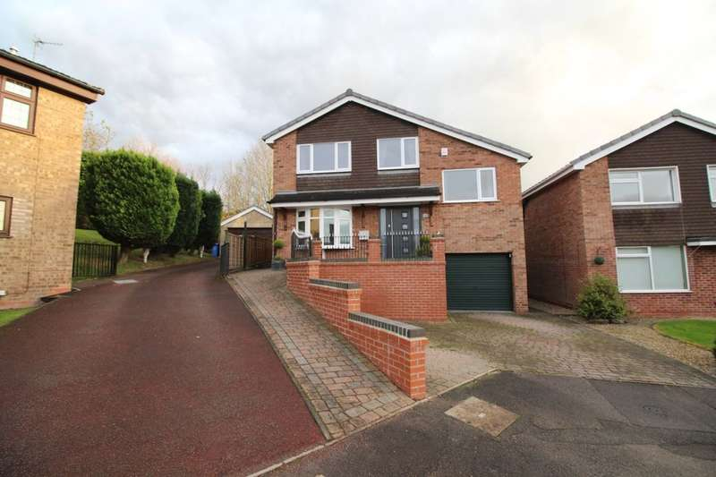 4 Bedrooms Detached House for sale in Bradwell Close, Mickleover, Derby, DE3