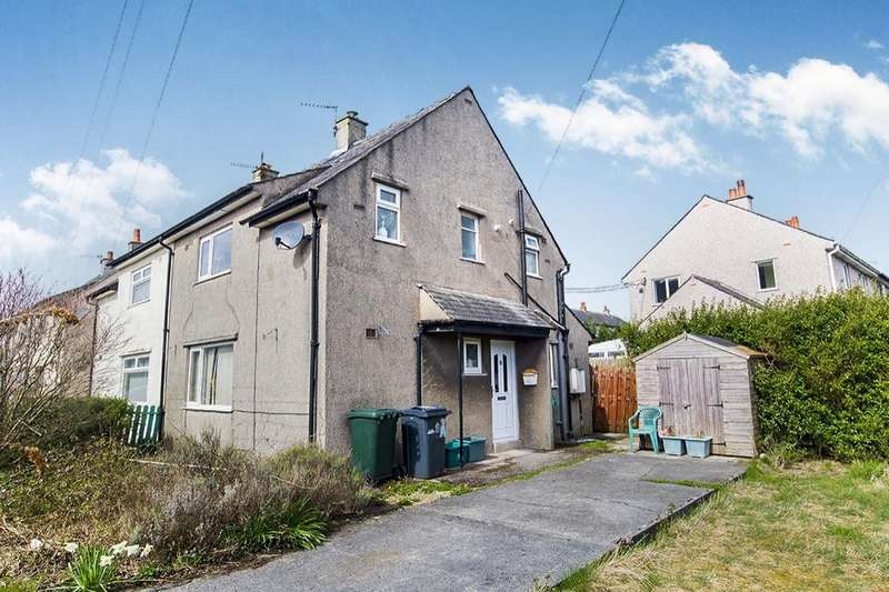 2 Bedrooms Semi Detached House for sale in Windermere Road, Carnforth, LA5